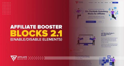 Affiliate Booster Blocks 2.1