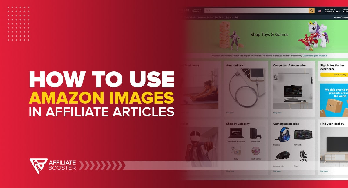 How to Use Amazon Images