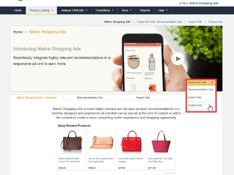 native-shopping-ads-on-amazon-affiliate